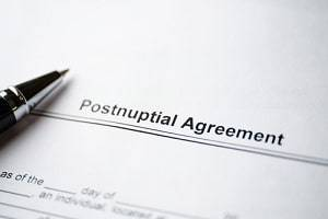 St. Charles family law attorney postnuptial agreement